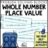 Whole Number Place Value Practice | Distance Learning