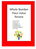 Whole Number Place Value Review