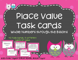 Whole Number Place Value Task Cards Through the Billions 4
