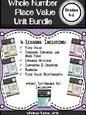 Whole Number Place Value Unit Bundle (TEST INCLUDED!)