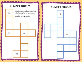 Whole Number Puzzles