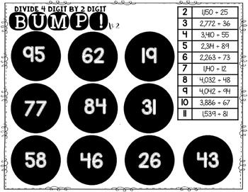Whole Number Quotients | Division BUMP Games