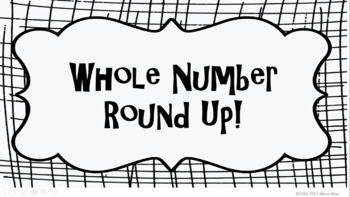 Whole Number Round Up