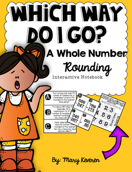 Whole Number Rounding Interactive Notebook