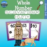 Whole Number Game   Whole Number Scavenger Hunt