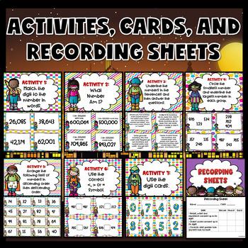 Number Sense Activities (Number Sense Task Cards)