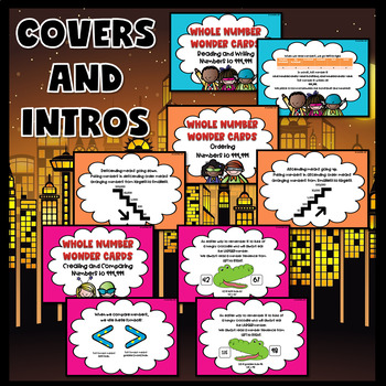 Number Sense Activities (Number Sense Task Cards with Recording Sheets)