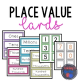 Whole Number and Decimal Place Value Cards