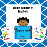 Whole Numbers As Fractions