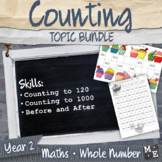 WHOLE NUMBERS BUNDLE Year 2 Counting to 1000 Activities