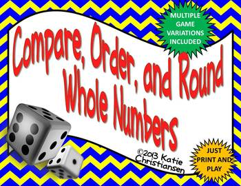 Whole Numbers Compare, Order, Round