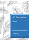 Whole Numbers, Fractions, Decimals