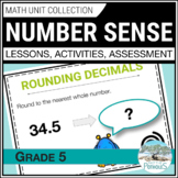 Whole Numbers (Place Value and Computations) Grade 5 Math Unit - Number Sense