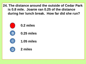 Whole Numbers and Decimals Test/Review for Visual Learners