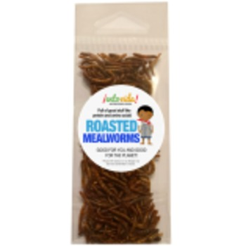 WHOLE ROASTED MEALWORMS
