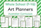 Whole School - Art Year Planners MEGA BUNDLE! (Australian Curriculum)