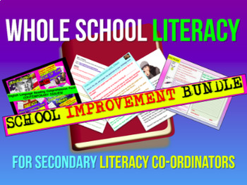 Whole School Literacy Improvement Bundle