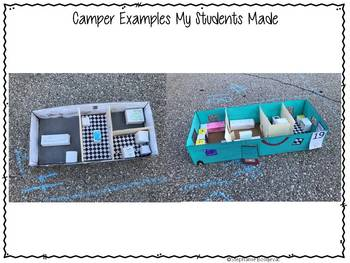 Whole School Project Based Learning-Camping Theme