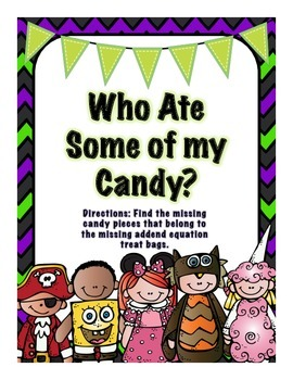 Who Stole The Candy- Missing Addend