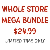 Whole Store Mega Clipart Bundle 70% Off!