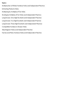 Whole Unit Operations Unit Bundle (68 pages)