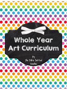 Whole Year Art Curriculum *BUNDLE!*