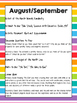 Whole Year Art Curriculum Framework - K-8