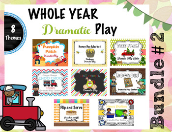Whole Year Dramatic Play Bundle # 2