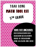 Whole Year Math Tool Kit: 5th Grade
