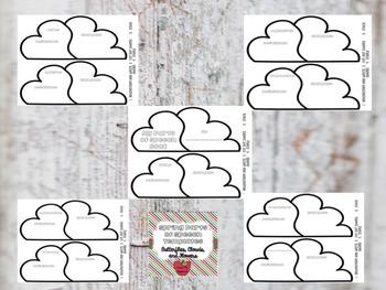 Parts of Speech Templates Bundle {9 booklets}