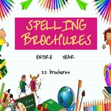 Whole Year Spelling Brochures