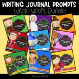 Whole Year Writing Journal Prompts Bundle