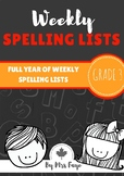 Whole Year of Grade 3 Spelling Lists - Canadian Version