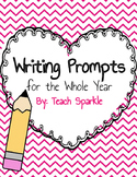 Whole Year of Writing Prompt Printables