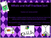 Whole and Half Fraction Sort