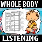 Whole body Listening (FLASH FREEBIE)