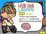 Whole body listening interactive powerpoint