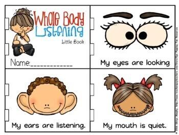 Whole body listening little book