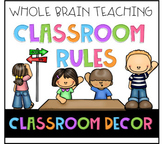 Whole brain teaching posters - classroom rules