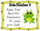 Whole brain teaching rules updated frog theme