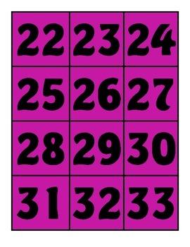 Whole class Behavior System Bingo