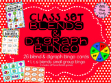 Whole class blends & digraph bingo & Small group for blends