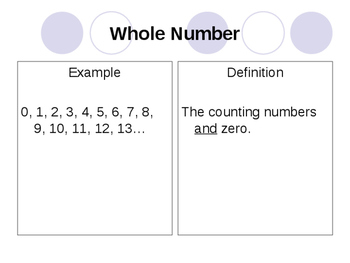 Whole number place value power point