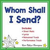 Whom Shall I Send Christmas Song with Sheet Music & Lyrics