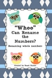 """Whoo"" Can Rename Numbers"