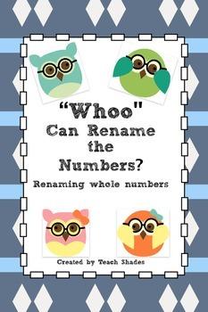 """Whoo"" Can Rename Numbers"