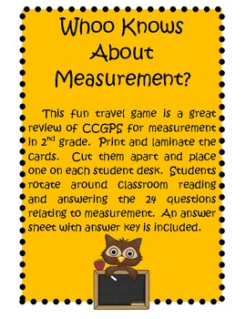 Whoo Knows About Measurement?