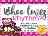Whoo Loves Rhythm {A Bundled Set of Rhythm Games}