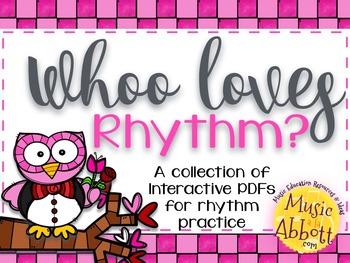 Whoo Loves Rhythm {A Bundled Set of Rhythm Games}