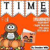 Sight Word Fluency Fall